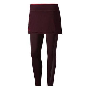 adidas US Series Legging Skirt - Dark Burgundy