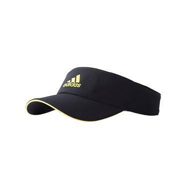 adidas Tennis Climalite Visor - Black/Bright Yellow