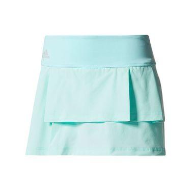 adidas Advantage Layered Skirt - Energy Aqua