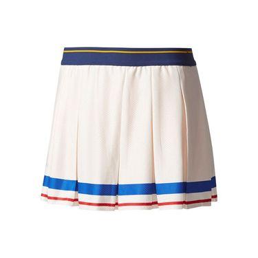 adidas Girls NY Skirt - White/Gold