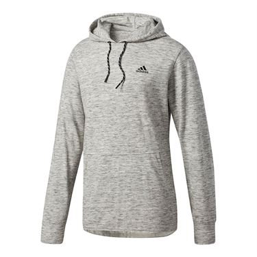 adidas Pique Pull Over - Grey Heather