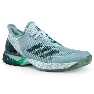 adidas Adizero Ubersonic 3W Jade Womens Tennis Shoe - Tactile Green/Collegiate Green/Green