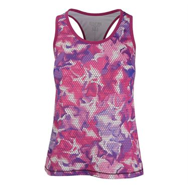 Solfire Bloom Stretch Your Limits Tank - Raspberry