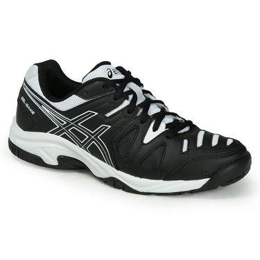 Asics Gel Game 5 Junior Tennis Shoe - Black/White