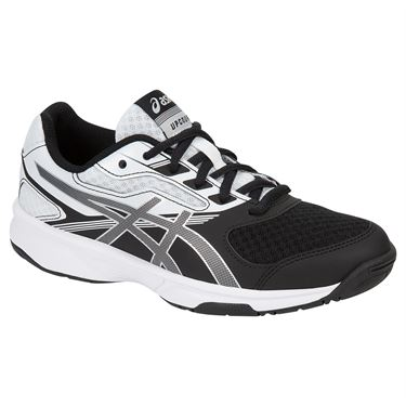 Asics Junior UpCourt 2 GS Tennis Shoe - White/Black