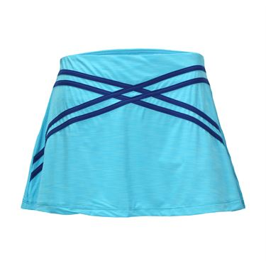 Eleven Camilla Rose 13 Inch Flounce Skirt - Blue Atoll