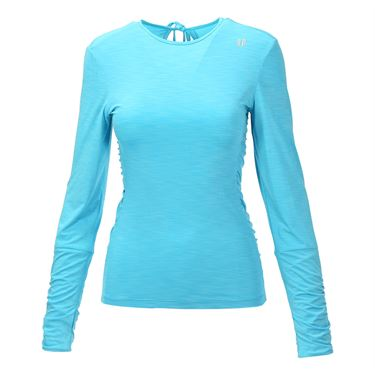Eleven Camilla Rose Long Sleeve Top - Blue Atoll
