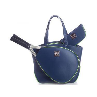 Court Couture Cassanova Epi Tennis Bag - Navy