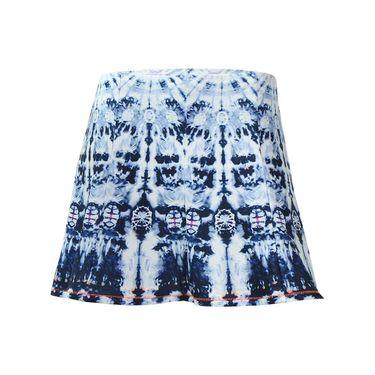 Lucky in Love La Boheme Long Gore Skirt - Cloud