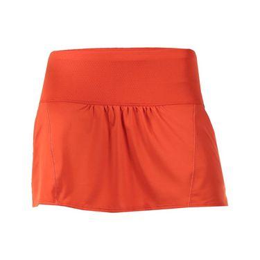 Lucky in Love Spot On Chill Skirt - Crimson Red