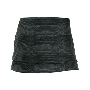 Lucky in Love Birque 12 Inch Skirt - Noir Alligator