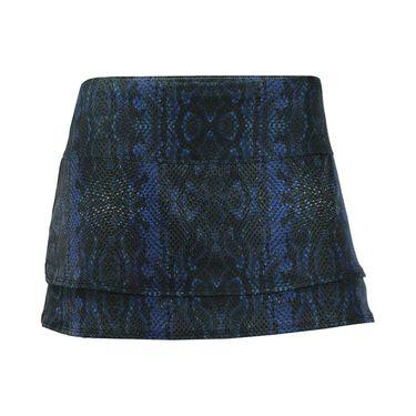 Lucky in Love Birque 12 Inch Skirt - Black Saphire Python