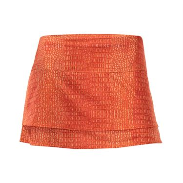 Lucky in Love Birque 12 Inch Skirt - Fire Croc
