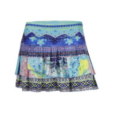 Lucky in Love Festival Pleat Skirt - Multi