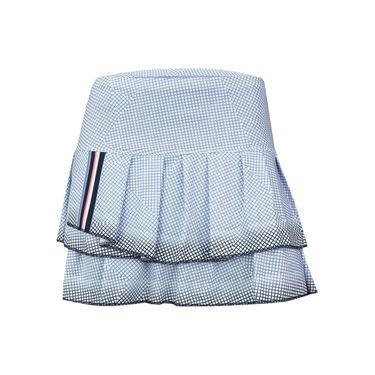 Lucky in Love Vantage Pleat Tier Skirt - Ice