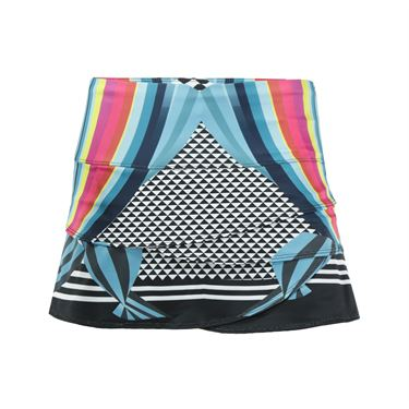 Lucky in Love Lady Land Scallop Skirt - Multi