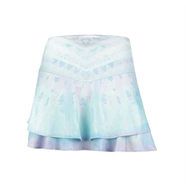 Lucky in Love Desert Shore Long Flip Skirt - Lagoon