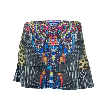 Lucky In Love Foxy Scallop Skirt - Multicolor
