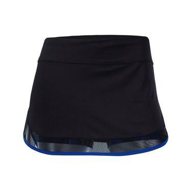 Lucky in Love Technicolor Mesh Border Skirt - Black