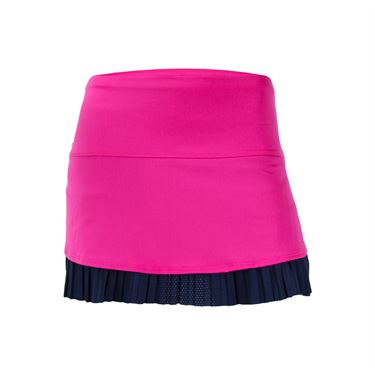 Lucky In Love Athena Long Drop Pleat Skirt - Midnight