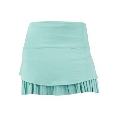 Lucky in Love Desert Shore Long Drop Pleat Skirt - Lagoon