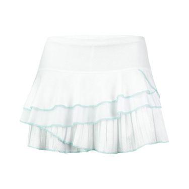 Lucky in Love Desert Short Rally Pleat Tier Skirt - White