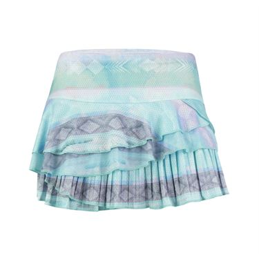 Lucky in Love Desert Shore Wild Rally Pleat Skirt - Lagoon