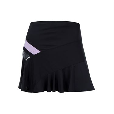 Lucky in Love Hyper Wave Long Asymmetrical Skirt - Viola