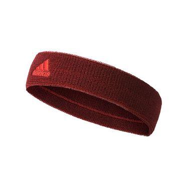 adidas Tennis Headband - Collegiate Burgundy/Scarlet
