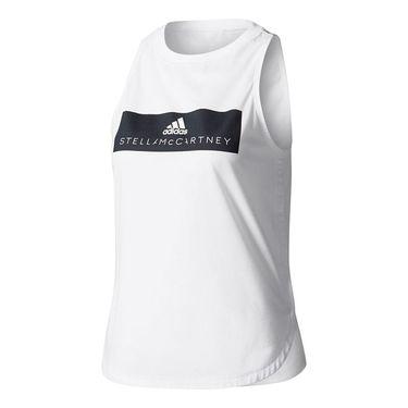 adidas Stella McCartney Essence Logo Tank - White