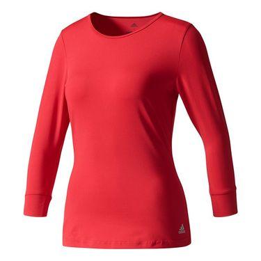 adidas Advantage 3/4 Sleeve Top - Energy Pink