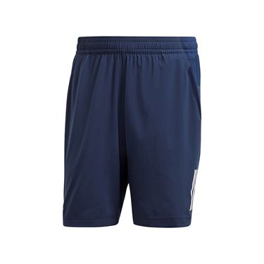 adidas Club 3 Stripes Short - Collegiate Navy