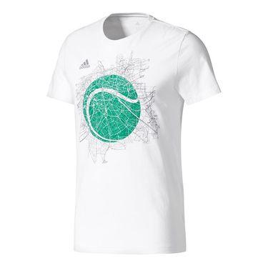 adidas Wimbledon Graphic Tee - White