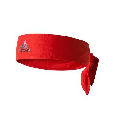 adidas Tennis Tie band - Scarlet/Silver Metal/Dark Burgundy