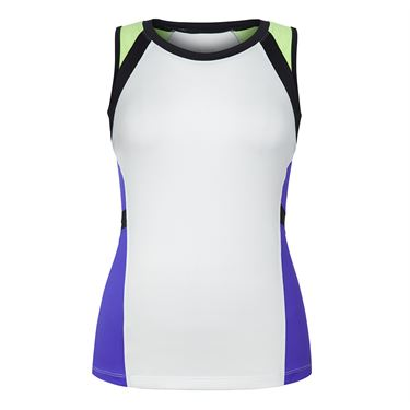 Chrissie Colorblock Tank - Indigo