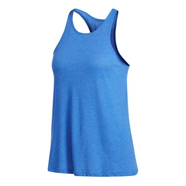 adidas Performance Open Back Tank - Blue