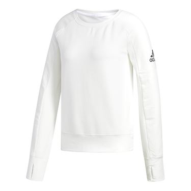 adidas Performance Long Sleeve Top - White