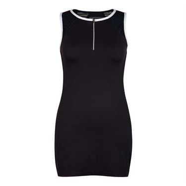 Chrissie Zipper Dress - Black