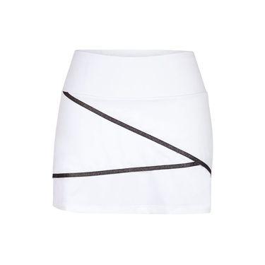 Chrissie A Line Skirt - White