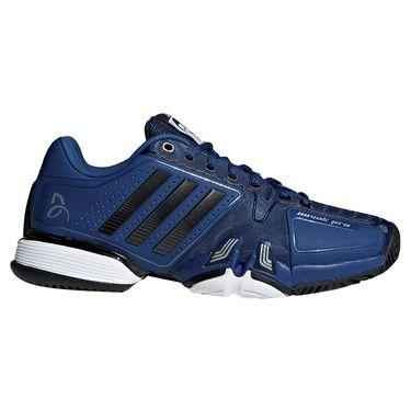 adidas novak pro Mens Tennis Shoe - Blue/Core Black/White