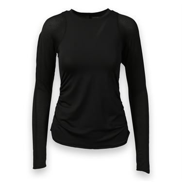 Lucky in Love Off the Grid Longsleeve Top - Black