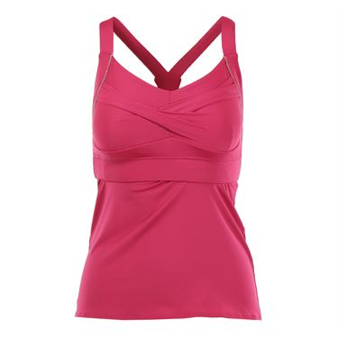 Lucky in Love In the Fast Lane Twist Front Cami - Raspberry