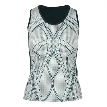 Lucky in Love Green With Envy Racerback Tank - Spruce