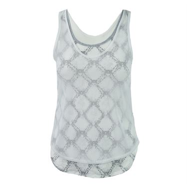 Lucky in Love Snake Charmer Fresh Mesh Layered Tank - Lilac