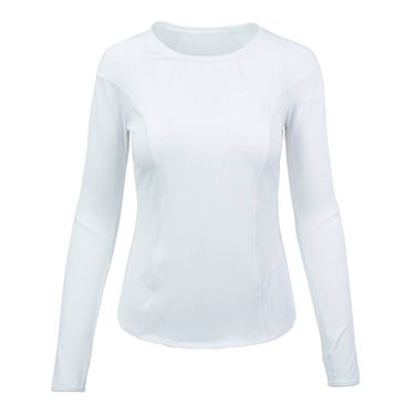 Lucky in Love Long Sleeve Element Crew - White