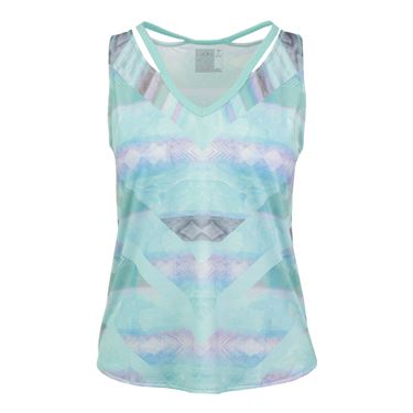 Lucky in Love Desert Shore Chill Tank - Lagoon