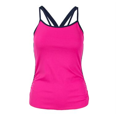 Lucky In Love Athena Break Point Cami - Shocking Pink
