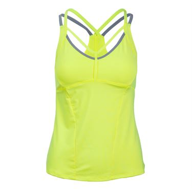 Lucky In Love Strapped Cami - Neon Yellow