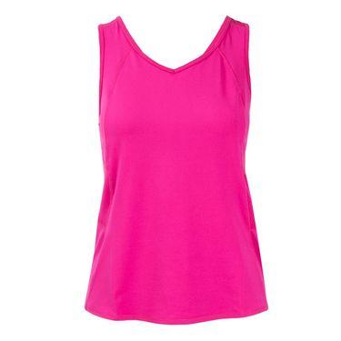 Lucky In Love Athena Jane Tank - Shocking Pink