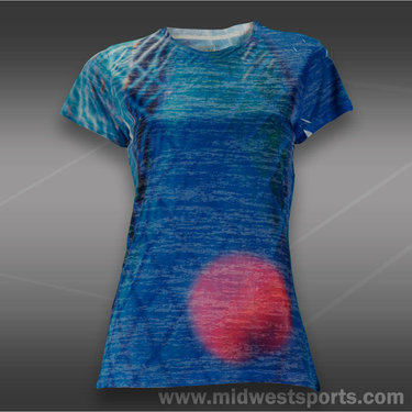 Lucky in Love 3-D Racket Burnout T-Shirt
